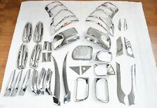 Chrome car accesory whole set kit trim 43pcs for Toyota PRADO FJ150 2010 - 2013