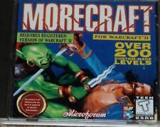 Warcraft 2 Battle Net Edition & Morecraft Over 200 Custom Made Levels