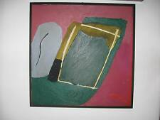Walter Fusi, acrilico su tela DA MUSEO BELLISSIMO!! VERO AFFARE!! Rabarama Biggi