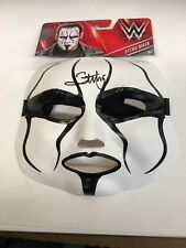 WWE Sting Autographed MASK  BECKETT AUTHENTICATION LOOK HOT RECENT