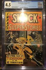 Shock SuspenStories #14 CGC 4.5 Used in Senate Investigation hearings