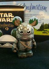 "DISNEY Park Vinylmation 3"" Set 6 Star Wars Return Jedi Ewok Teebo with Box"