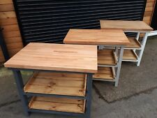 pine kitchen islands carts with butchers block for sale ebay rh ebay co uk