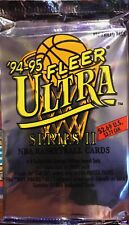 1994/95 Fleer Ultra NBA Series 2 17-Card Jumbo Pack - Brand New & Sealed