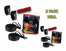 2 PACK 600w High Frequency Car Truck Boat Stereo Tweeters Built-in Crossover XTC