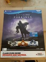 "Destiny 2 Forsaken Legendary Collection Gamestop Promo Poster 24x28"" PS4"