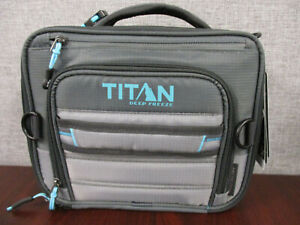 Titan Deep Freeze Expandable Lunch Box with 2 Ice Packs & Leak Proof Containers