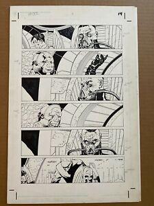 Star Wars Empire #1 Page 14 Original Comic Art by Ryan Benjamin
