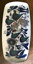 Kari Christensen Aluminia Royal Copenhagen Denmark Fajance Birds Dish 149/2744