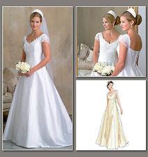 Abito da sposa VOGUE Sewing Pattern | V2788 | originali da sposa tg 12-14-16