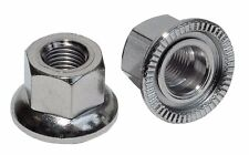 "Weldtite Bike / Cycle Wheel Axle Track Nuts Sizes  5/16"" 3/8"" 9mm 9.5mm 10mm"