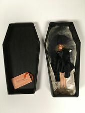 Vintage Black Magnolia Barbie VOODOO DOLL IN CASKET - New Orleans
