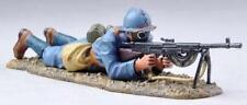 THOMAS GUNN WW1 FRENCH GW042B POILU GAS MASK FIRING CHAUCHAT MACHINE GUN MIB