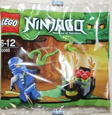 NUOVO CON SCATOLA Lego Ninjago Jay ZX saltando SERPENTI 30085 Set rare promo polybag pupazzetto
