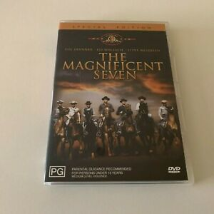 THE MAGNIFICENT SEVEN - SPECIAL EDITION - DVD - R4 - VGC - FREE POST
