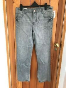 quiksilver washed grey boyfriend jeans 30 waist bnwt