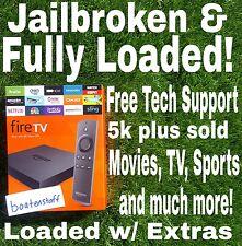 Amazon Fire TV Box 4k Alexa w/ Options not availabl anywhere-still in cellophane