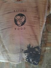 L brown T SHIRT RAVENS WOOD tv show SUPERNATURAL mystery TEEN little liars scary