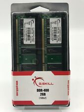 G.SKILL F1-3200PHU2-2GBNT DDR-400 PC-3200 1GBx2 Memory (Lot of 2)
