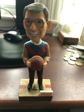 Rare Coca-Cola Lou Carnesecca Bobblehead St Johns With Vintage 1960s Pennant
