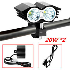 Bright Spot Light Waterproof LED Head Light w/ Switch for Bicycle motorcycle Car