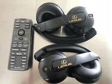 2010- 2014  LEXUS GX460  REMOTE CONTROL 86170 48020 + WIRELESS HEADPHONES OEM