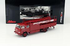 MAN 635 Porsche Race Camion rouge 1:43 Schuco