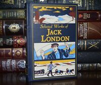 NEW Selected Works of Jack London Call Wild Leather Bound Hardcover Gilt Edge