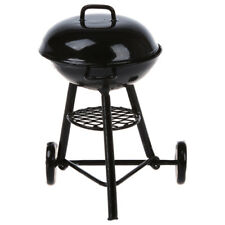 Dollhouse Miniature Kitchens Picnic Grill BBQ Cooking Oven Metal WS