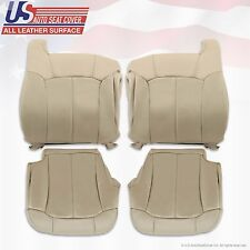 1999 2000 2001 2002 Chevy Tahoe Suburban Upholstery leather seat cover(s) Shale