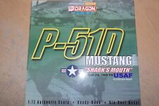 DRAGON WINGS 1:72 P-51D MUSTANG SHARK'S MOUTH 12TH FS 18TH FG  USAF KOREA  50040