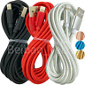 10Ft Braided USB Lightning Charger Charging Cable Apple iPhone 11 XR 8 iPad Cord