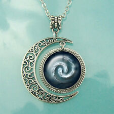 Nomad Necklace Moon Jewelry Blessed Gift Avatar the Last Airbender Pendant Air