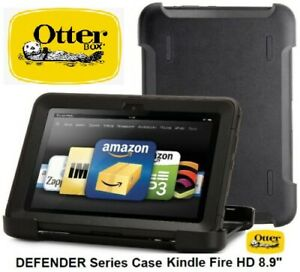 """OtterBox DEFENDER Series Case Amazon Kindle Fire HD 8.9"""" - Black / 77-25221 NEW"""