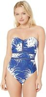 La Blanca Women's 236748 Bandeau One Piece Swimsuit Size 8