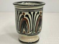 Nils Kahler Pottery Vase/Urn For HAK - Herman Kahler Danish Pottery MCM Denmark