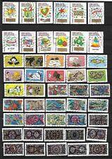 N°397- super lot 47 timbres FR. 2016-en 4 séries complètes sauf N°1357-oblit.