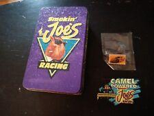 NHRA Racing Smokin' Joe's Racing Pin, Patch & Tin