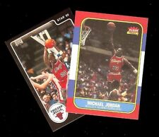 2 Card Lot 1986-87 FLEER #57 & 1984-85 Star #101 Black Border Rookie Reprints*