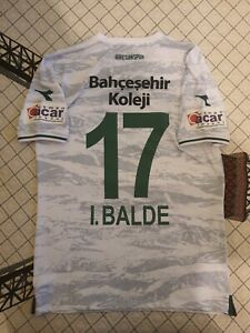 "20-21 Giresunspor Match Worn Shirt "" Balde "" Atletico Madrid Cluj Krasnodar"