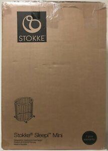 Stokke Sleepi Mini Oval Shape Crib Baby Flexible Bed with Mattress CHOOSE COLOR