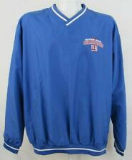New York Giants Mens Size Large Super Bowl Champions XLII Windbreaker AGIA  183 4a94bf37e