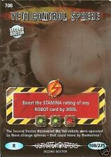 DR WHO ULTIMATE MONSTERS RARE 708 YETI CONTROL SPHERE