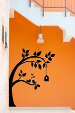 Wall Stickers Vinyl Decal Tree Branch Birds Floral Cute Decor (z1889)