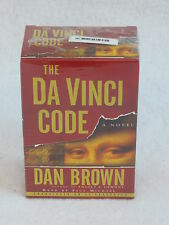 Dan Brown The Da Vinci Code 11 Audiocassettes Boxed Random House 2003 Sealed