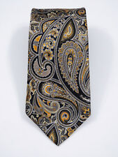 "NWOT BEAUTIFUL JOS A BANK SIGNATURE PAISLEY LIQUID GLOSS SILK TIE L 64"" X W 3.5"""
