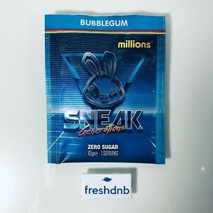 Sneak Energy - Single Sachet - Bubble Gum Millions - Genuine UK Trusted Seller