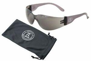 PiWear Sonnenbrille - Dallas SM - grau transparent, schwarze Gläser
