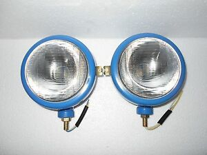 Ford Tractor Head Light Set LH RH 12 V Blue