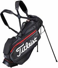 Titleist Golf Caddy Carry JET Premium Stand Bag Type 9 x 47 Inch TB20SXSF Black